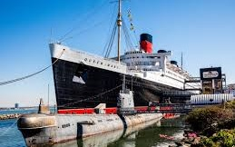 Queen Mary Hotel Legendeary ocean liner from 1936 open for guests and visitors Cunard line