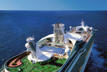 Royal Caribbean's Adventure of the Seas sails from Cape Liberty to New Enland, Canada, Caribbean, Florida, Bahamas