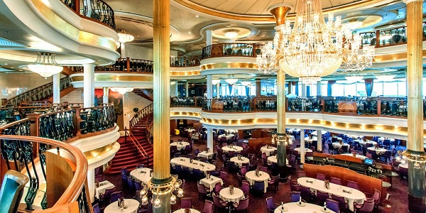 Adventure of the Seas Main Dining Room