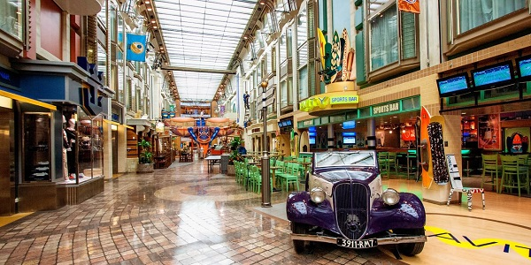Royal Promenade on Adventure of the Seas