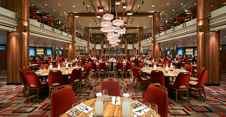 Carnival Cruises Carnival Horizon Main Dining Room