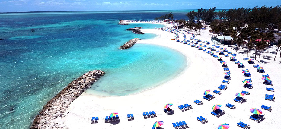 Beautiful Beaches Coco Cay Bahamas Royal Caribbean Private Island
