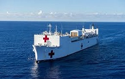 USNS Comfort Arrives in New York to Provide 1,000 Hospital Beds