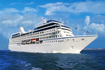 Insignia Oceania Cruises sails from New York to Bermuda, New England, Canada, Europe