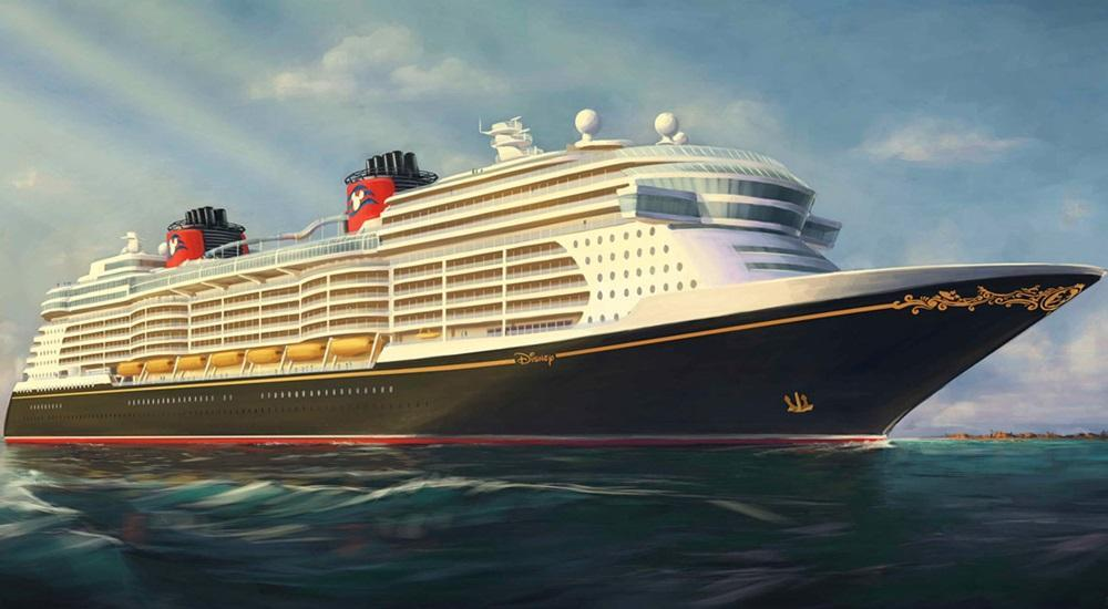 Artists Rendering of the Disney Magic.