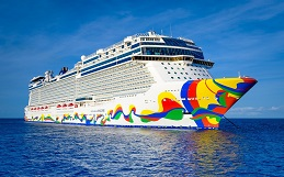 Norwegian Encore to assist with delivering crew home