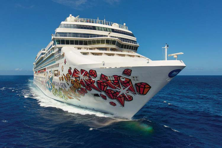 Norwegian Cruise Lines unveils new health precautions and social distancing policy that will be in place when NCL resumes service