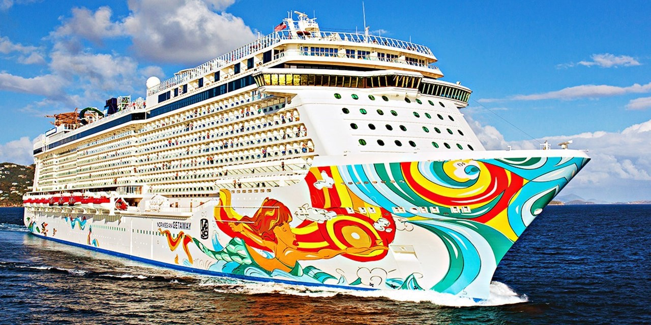 Norwegian Cruise Line's 2022-2023 Itineraries Features 3 Ships Sailing from New York - Pictured Norwegian Getaway