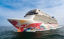 Review of Norwegian Cruise Line's Norwegian Joy, Public Rooms, amenities, staterooms, photos, statistics and more