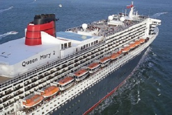 Queen Mary 2 Sails from Brooklyn NY to England, Europe, Canada and the Caribbean
